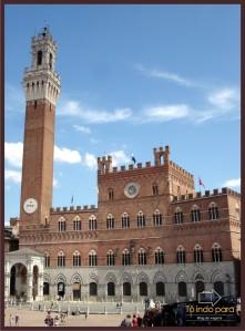 A Torre dei Mangia e o Palazzo Pubblico